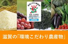滋賀の環境「こだわり農産物」